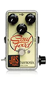 "JHS Pedals EHX Soul Food Meat & 3"" Mod Guitar Effects Pedal"