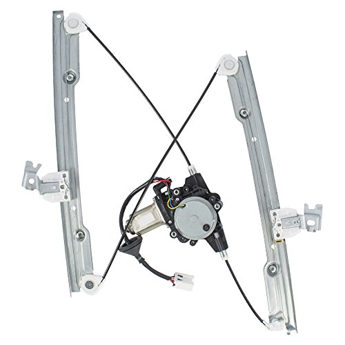 Passengers Front Power Window Lift Regulator w/Motor Assembly Replacement for Nissan Maxima 807207Y000 ()