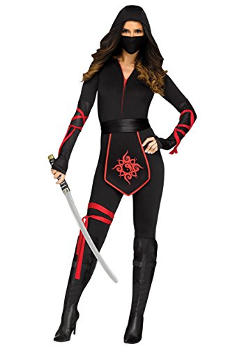 Fun World Women's Sexy Ninja Warrior Adult Costume, Multi, Medium
