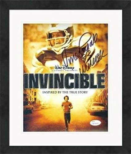 e8acf10a6aa Vince Papale Signed Photo - 8x10 Invincible JSA Matted   Framed -  Autographed NFL Photos