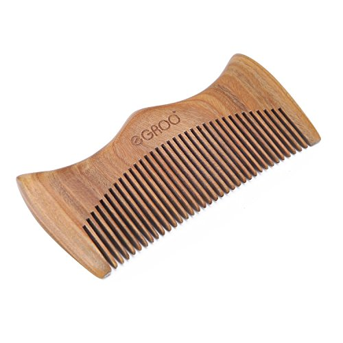 eGroo%C2%AE Hair Comb Sandalwood Anti static product image