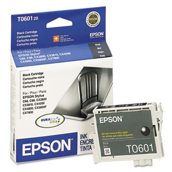 (Epson - T060120 DURABrite Ink, 450 Page-Yield, Black)