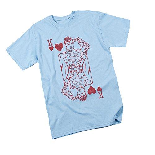 DC Comics Super Card - Superman Youth T-Shirt, Youth X-Large