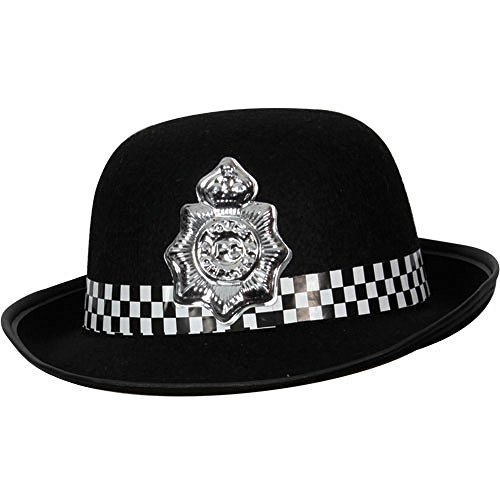 Toyland British Police Hat Ladies Wpc Officer Womens Fancy Dress Hat -