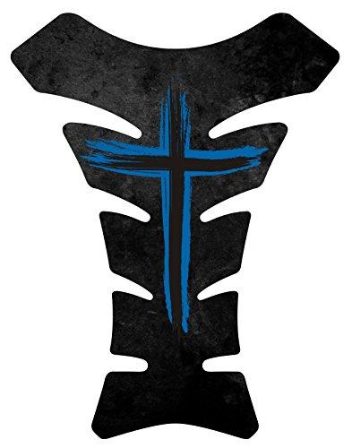 black and blue honda cbr stickers - 9