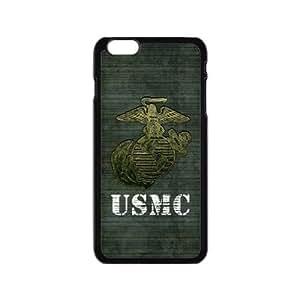 NADIA Generic Custom Extraordinary Best Design USMC(US Marine Corps) Symbol Series Plastic Case Cover for the iPhone6 4.7 inch