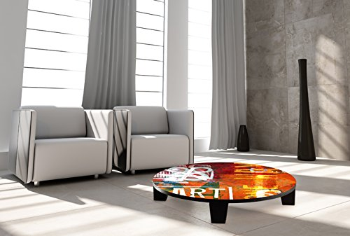"TAF DECOR TAF-ATSVN014A ""Art Street"" Art Coffee Table, 35"" x"
