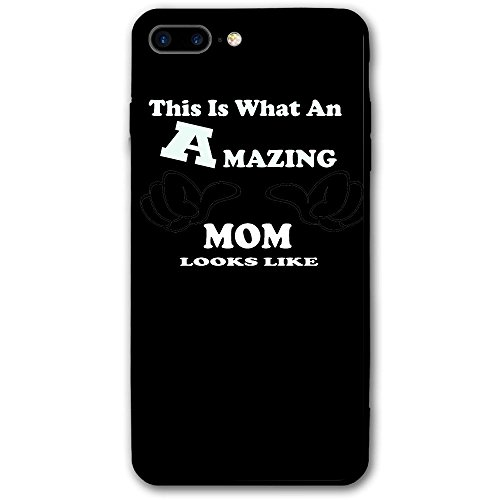 Holiday Surprise Bouquet (This Is What An Amazing Mom Look Like IPhone 8 Plus Case Full Body Protection Apple Only (5.5-inch) - Black Screen Protector 3D Printed Bumper Protective Cute Case)