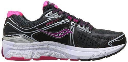 Saucony Omni 15, Zapatillas de Entrenamiento para Mujer Gris (Grey/Purple/Pink)