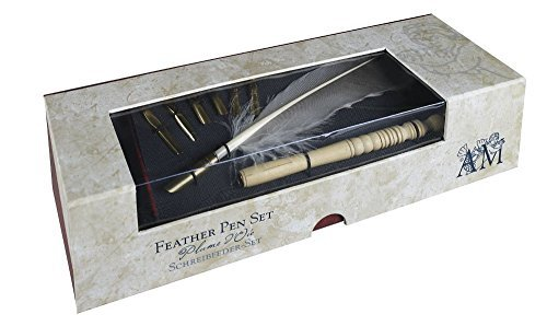 (Authentic Models MG118 Feather Pen Set - MG118,)
