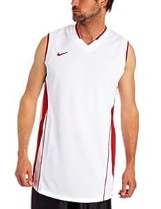Nike Men's Slam    Tank Sleeveless Basketball Dry-Fit T-shirt 2XL White-Red