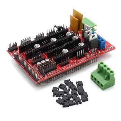 FidgetFidget Geekcreit RAMPS 1.4 + Mega2560 + A4988 + 2004LCD Controller 3D Printer Kit
