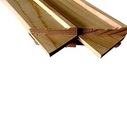 1.5' Jumbo Art Canvas Stretcher Bar, Stretching Strips. (2 Pack) (24')