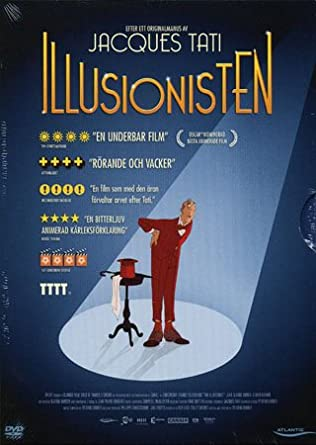 The Illusionist -DVD - English   French - by Sylvain Chomet screenplay by  Jacques Tati legend  Amazon.co.uk  Sylvain Chomet 9b43e97649d