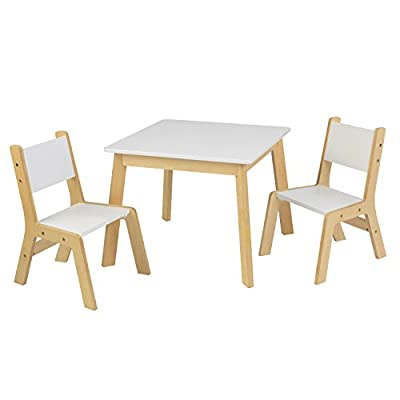 KidKraft Modern Table and 2 Chair Set: Toys & Games