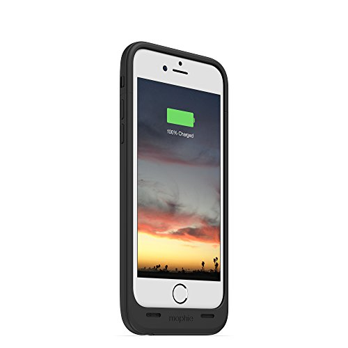 mophie juice pack air - Slim Protective Mobile Battery Pack Case for iPhone 6/6s - Black by mophie (Image #9)