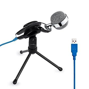 Tonor USB Micrófono Condensador Digital Profesional de Sonido ...