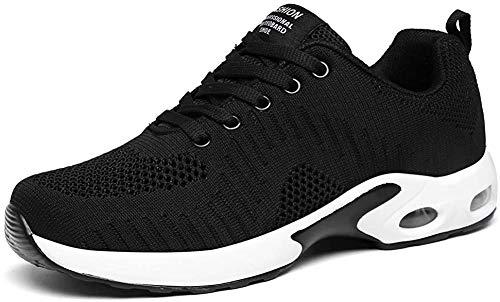 LUOBANIU Sportschoenen voor dames, loopschoenen met luchtkussen, turnschoenen, sneakers, trainer, lichte luchtschoenen