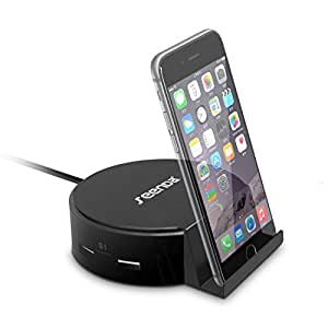 Desktop Charging Station, Seenda 4-Port USB Charger Wall / Travel Charging Dock with Phone Tablet Stand for iPhone, Samsang Galaxy, iPad, HTC, Nexus, Blackberry and More