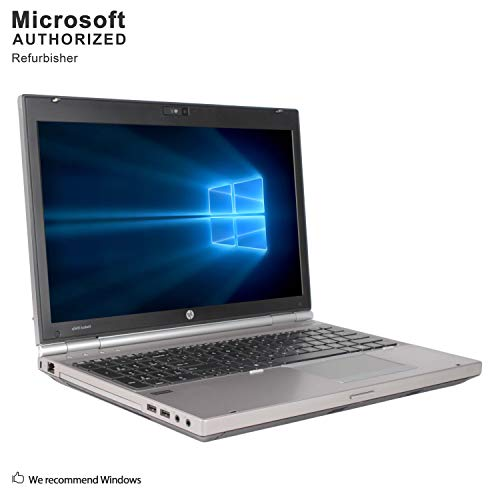 2019 HP EliteBook Business, Dual Core i5 Upto 3.2GHz, 8G DDR3, 512G SSD, DVDRW, 15.6 inch Screen, DP,VGA, WiFi, USB 3.0, Windows 10 64 Bit-Multi-Language(CI5)(Certified Refurbished)