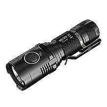 Nitecore MH20 CREE XM-L2 U2 1000 lm LED USB Rechargeable Flashlight with 2300mAh 18650 Battery ,Black