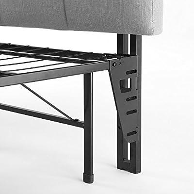Zinus SC-SBBK-14NT-FR Smartbase Bed Frame Metal, Narrow Twin
