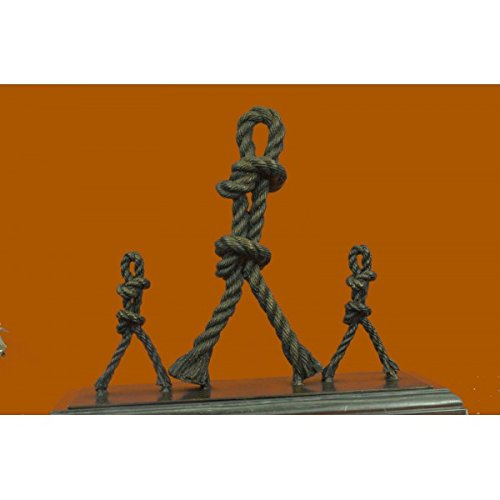 Price comparison product image EUROPEAN BRONZE Admirable Signed Original French Artist Jean Patoue Dancing Ropes Bronze Sculpture Statue