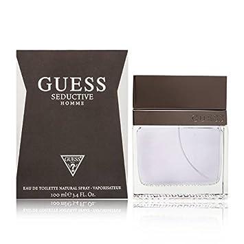 9dec1bb11dce32 Amazon.com : Guess Seductive Men Edt Spray, 3.4 Fl. Oz : Guess Seductive  For Men : Beauty