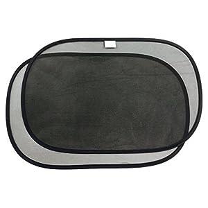Mr. Bene Car Sun Shade - 2 Packs - Suction Cups Free Design