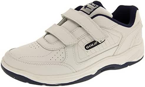 Gola Mens AMA202 Belmont Real Leather Wide Fit Velcro Sneakers
