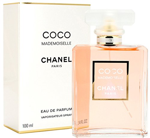 Chanêl Coco Mademoiselle Eau De Parfum Spray, for Woman EDP 3.4 fl oz, 100 ml