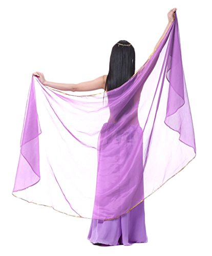 AvaCostume Chiffon Solid Color Scarves