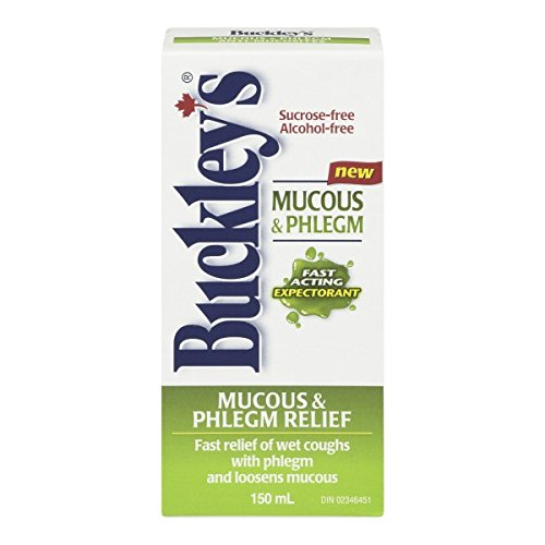 BUCKLEY'S Original 'EXPECTORANT' Syrup for COUGH, MUCUS & PHLEGM 150 ml Size by Buckley's
