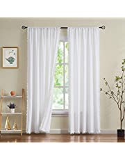Pom Pom Velvet Curtains