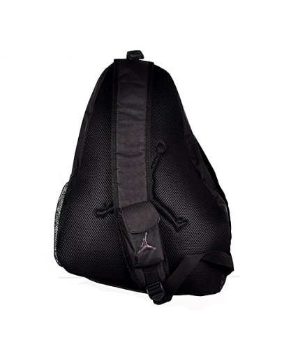 f81d199ef3a23f Jordan Jumpman Sling Backpack 9A1117-023 Black Size O S - Import ...