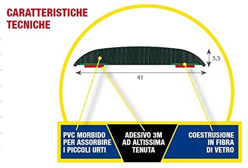 Mokka 2012 5 Porte con Biadesivo 3M Modanature Laterali Bumper Paracolpi per O