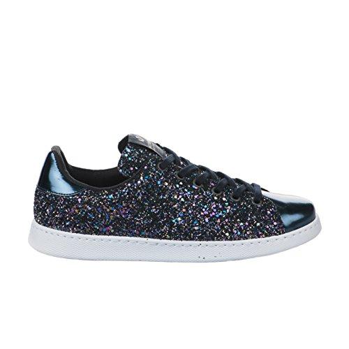 victoria Unisex-Erwachsene Deportivo Glitter Sneaker, Marino Marino