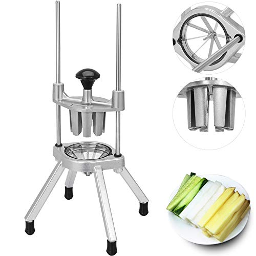 Happybuy Lime Slicer Wedger 8 Section Wedger Lemon Slicer Cutter Food Chopper for Restaurant