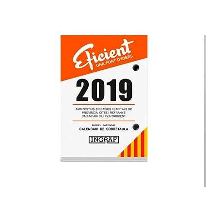 Ingraf C10210 - Recambios calendario buffet 8,2 x 11,6 catalan