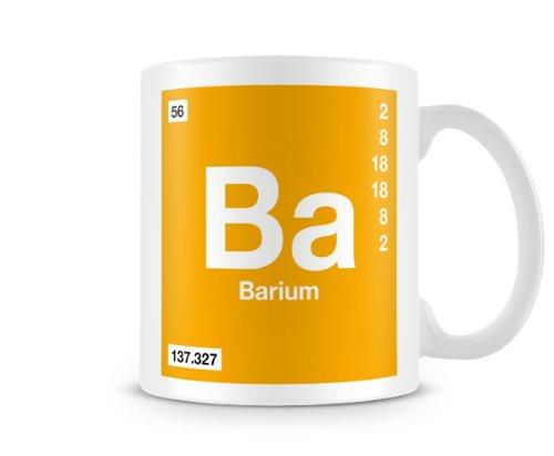 Periodic table of elements 56 ba barium symbol mug amazon periodic table of elements 56 ba barium symbol mug urtaz Image collections