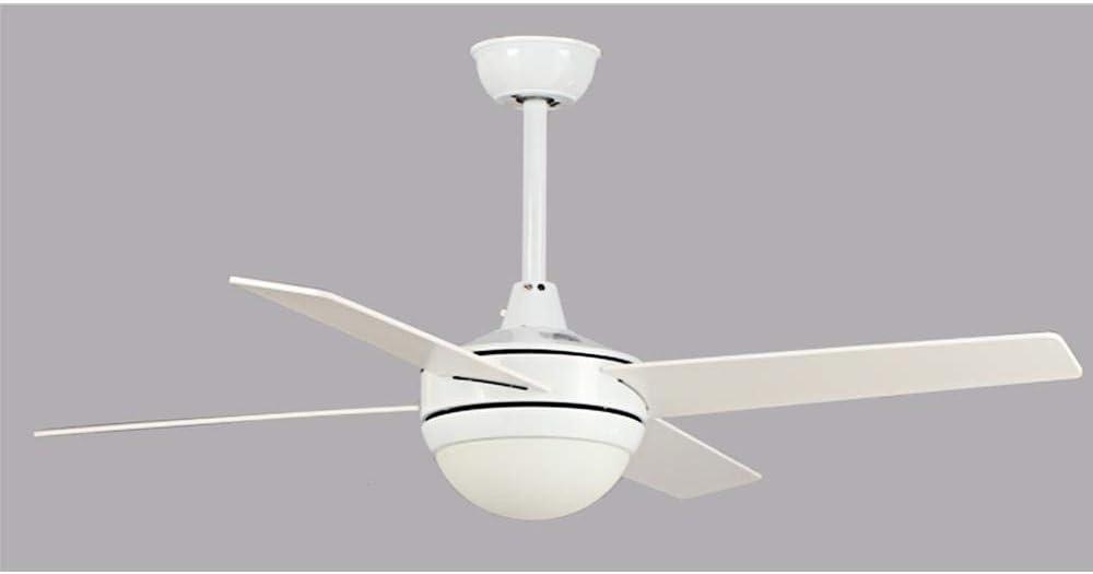 Promocion ventilador de techo blanco TORNADO LED con mando a distancia.: Amazon.es: Iluminación