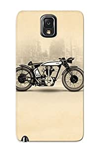 Crazinesswith Case Cover For Galaxy Note 3 - Retailer Packaging 1929 Norton Cafe Racer Protective Case