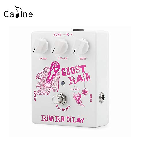 Caline CP-41 Ghost Rain Guitar Effects Pedals Analog Echo Delay Reverb Guitar Pedals