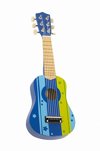 Kids-Wooden-Ukulele-Toy-Guitar-Instrument-Blue-by-Pidoko-Kids