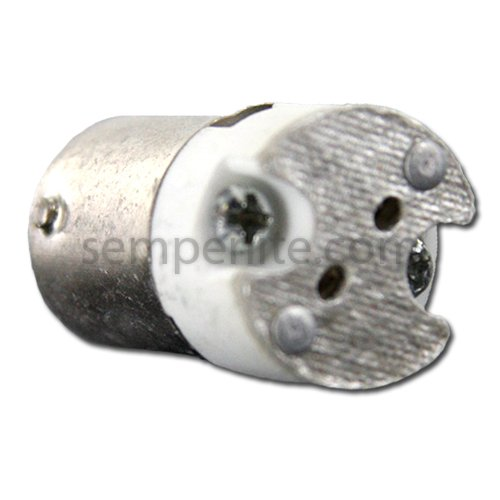 LH0898 BA15d double contact bayonet to G4 adapter