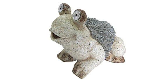 Alpine QWR474SLR Solar Frog Statue, 12