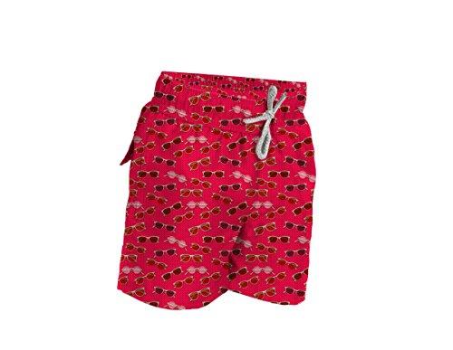 Blueport by Le Club Boys Swim Trunk Shades Red M (5-6)