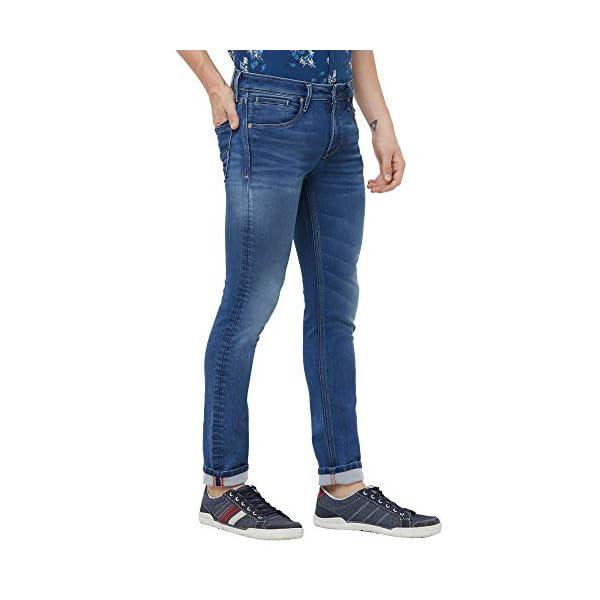 KILLER Men's Blue Slim Fit Jeans 2021 July Care Instructions: Machine Wash Fit Type: Slim Flint Blue