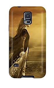 Snap-on Case Designed For Galaxy S5- Fantasy Girl 16 1642799K68284481
