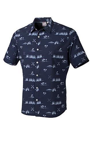 - Puma Golf Men's 2019 Paradise Shirt, Peacoat, XX-Large